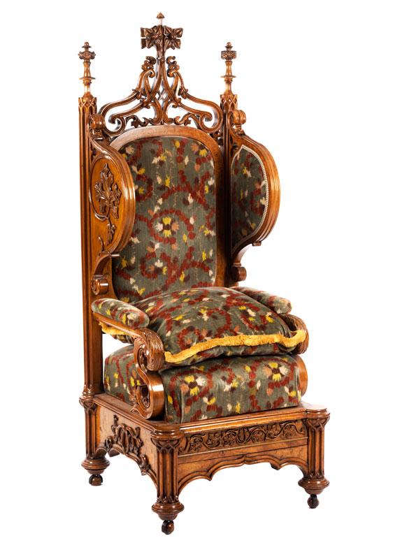 Neugotischer Sessel