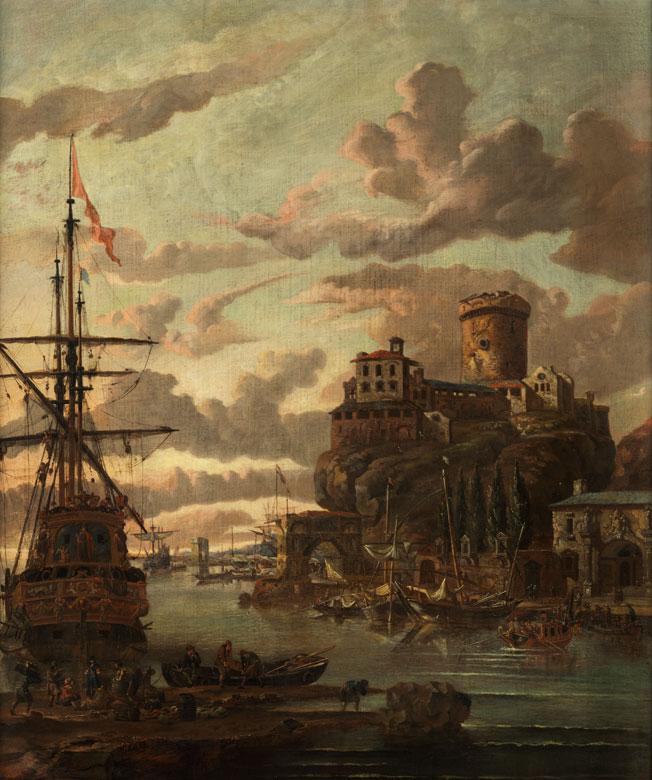 Abraham Jansz Storck, um 1635 Amsterdam – 1710 ebenda