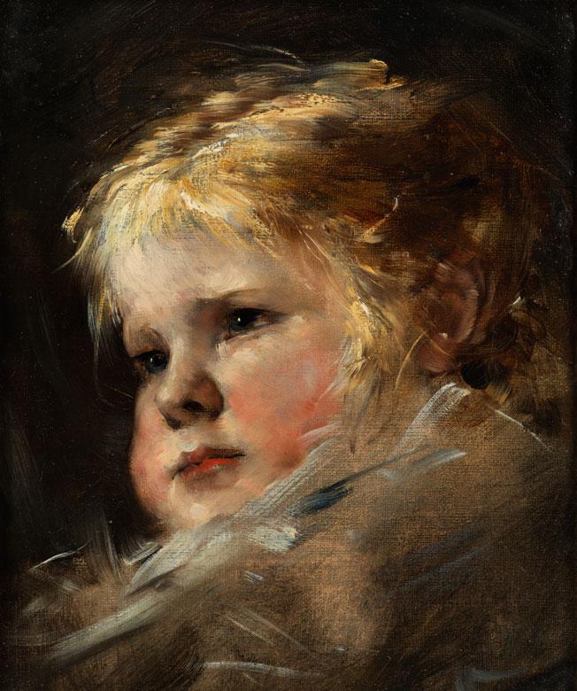 Nikolaus Gysis, 1842 Sklavahory – 1901 München, Bedeutender griechischer Maler der Münchener Schule.