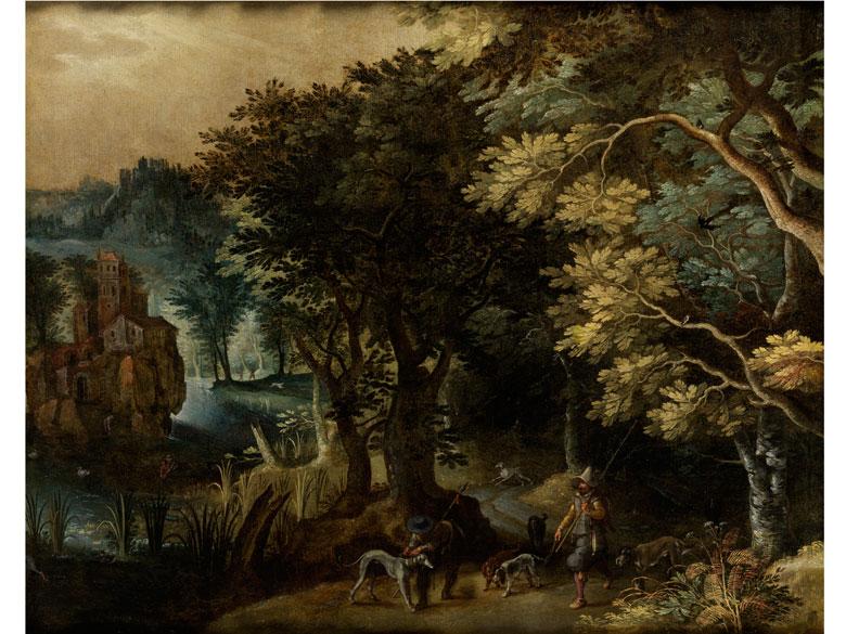 Paul Bril, 1554 Antwerpen – 1626 Rom