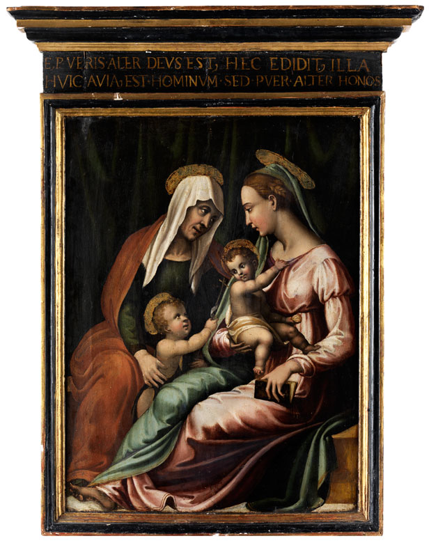 Vincenzo Tamagni, 1492 San Gimignano, Italien – um 1530 ebenda