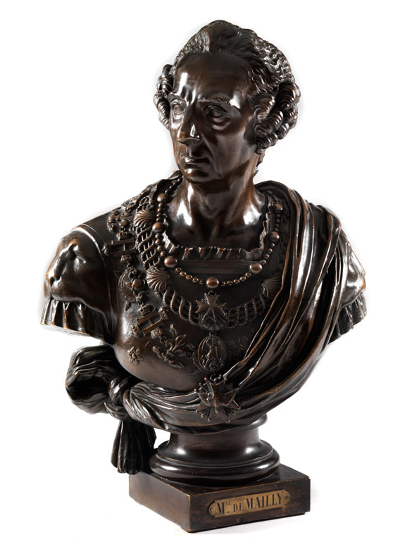 Büste des Augustin-Joseph, Comte de Mailly
