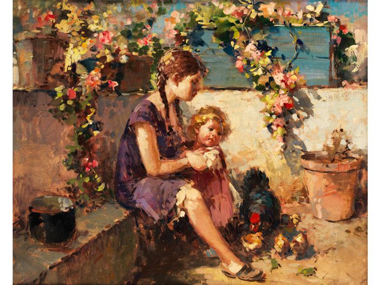 Vincenzo Irolli, 1860 Neapel – 1942/49 ebenda,