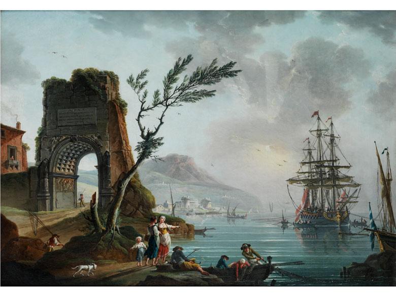 Charles-François Grenier de la Croix, genannt Lacroix de Marseille, 1700 Marseille – 1779 Berlin