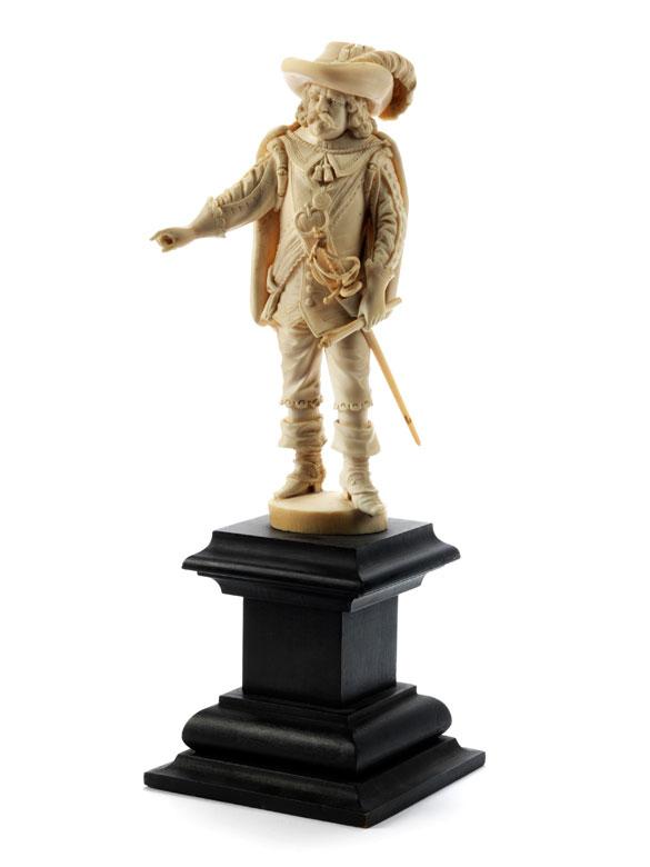 Figur eines Musketiers