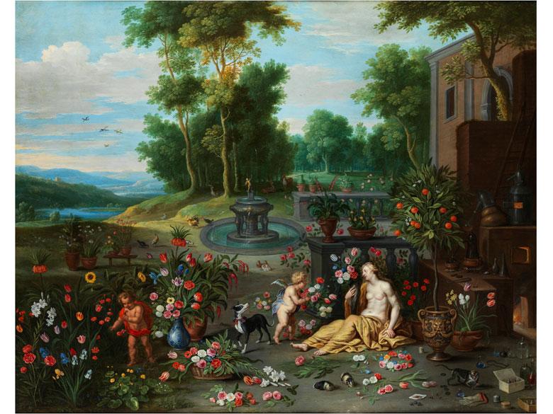 Jan Brueghel d. J., 1601 – 1678 in Zusammenarbeit mit Frans Wouters, 1612/14 – 1659