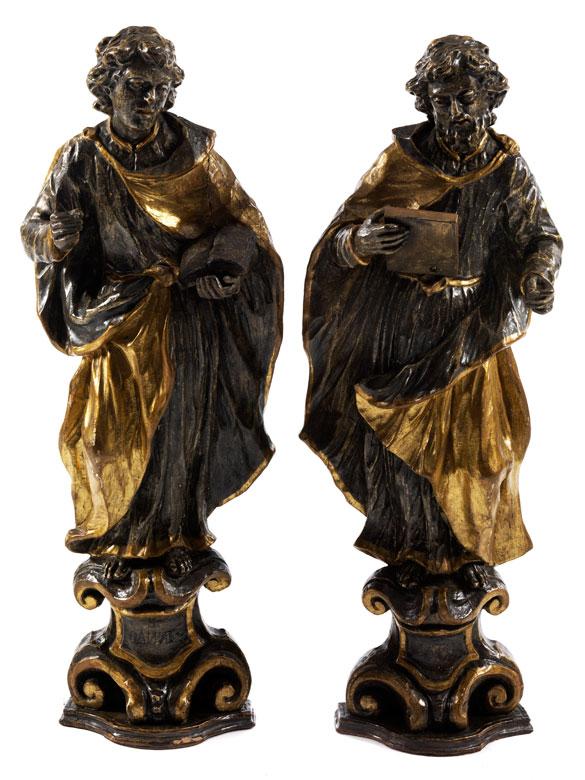 Paar Heiligenfiguren