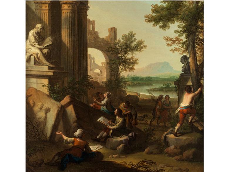 Andrea Locatelli, 1695 Rom – 1741