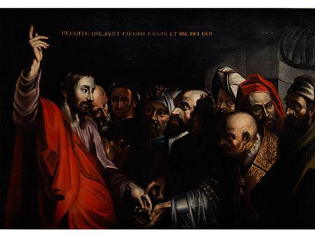 Süditalienischer Maler der ersten Hälfte des 17. Jahrhunderts, im Stil von Michelangelo Merisi Caravaggio (1570-1610)