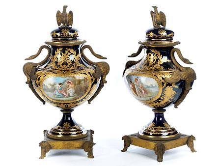 Paar Sèvres-Ziervasen