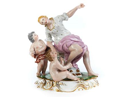 Porzellanfigurengruppe