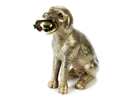 Silberhund des Rochus von Montpellier