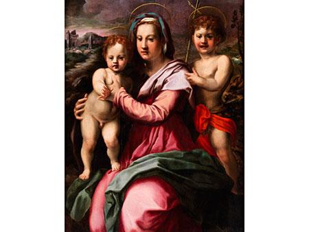 Florentiner Meister aus dem Kreis von Pier Francesco Foschi (1502-1567) sowie Andrea del Sarto (1486-1530)