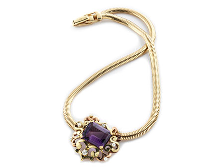 Detail images:  Amethystcollier