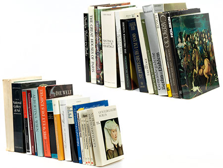 Konvolut von ca. 30 Kunstbüchern