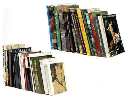 Konvolut von ca. 25 Kunstbüchern