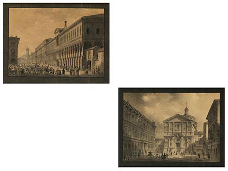 Giovanni Migliara, 1785 Alessandria – 1837 Mailand, zug.