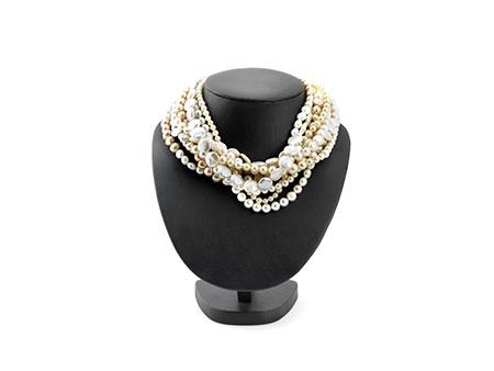 Detailabbildung:  Perlencollier