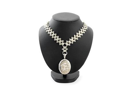 Detail images:  Silberkette