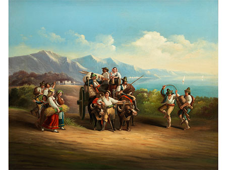 Neapolitanischer Maler des 19. Jahrhunderts