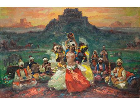 Ibrahim Safi, 1898/99 Nakhchivan, Aserbaidschan – 1983, zug.