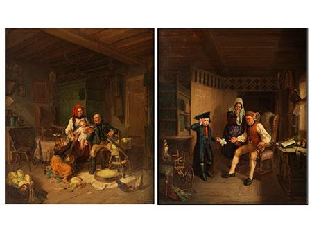 C. Hösch, Deutscher Maler des 19. Jahrhunderts
