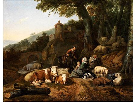 Johann Heinrich Roos, 1631 Otterberg/ Pfalz – 1685 Frankfurt a. M., Hofmaler des Kurfürsten von der Pfalz