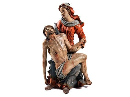 Pietà-Schnitzfigurengruppe
