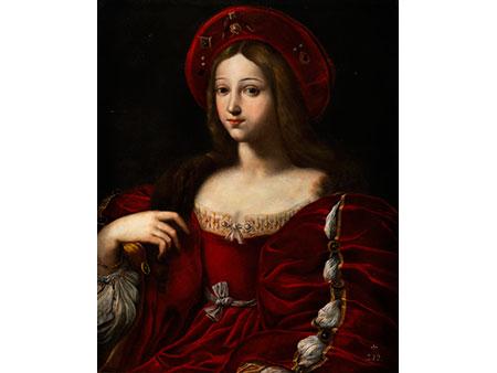 Luca Penni, um 1500 Florenz – 1556, Schüler Raffaels (1483-1520)