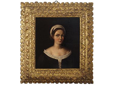 Giovanni Francesco Penni, 1488 Florenz – um 1528 Neapel, zug. Maler aus dem Umkreis Raffaels (1483-1520).