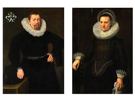Michiel Jansz van Mierevelt, 1567 Delft - 1641, zug.