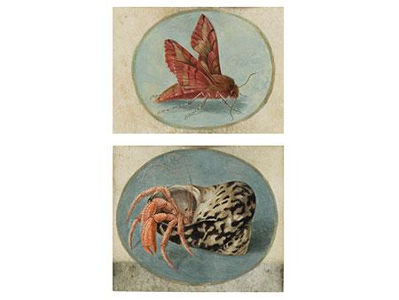 Paar Miniaturmalereien