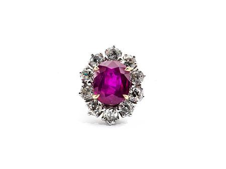 Detail images:  Burma-Rubin-Diamantring