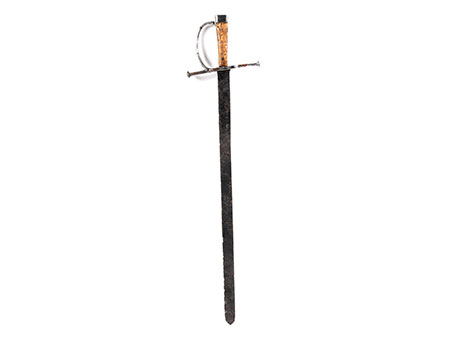 Schwert mit Holzgriff