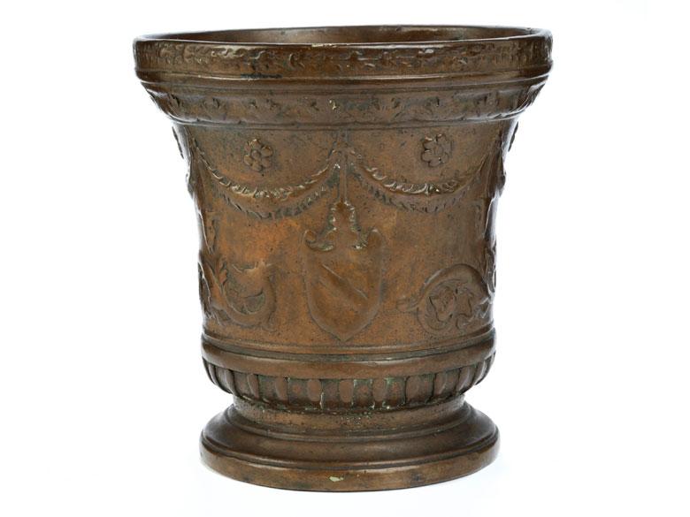 Seltener Bronzemörser
