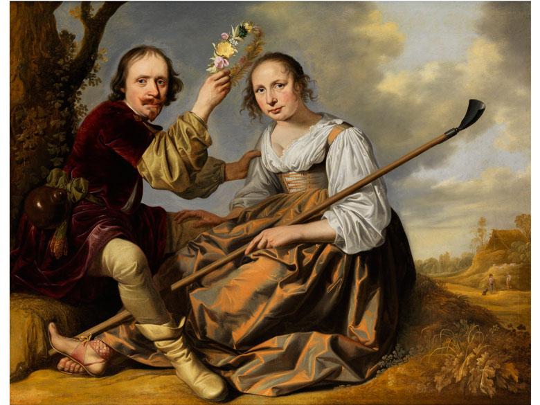 Jacob van der Merck, 1610 Gravendeel – 1664 Leiden