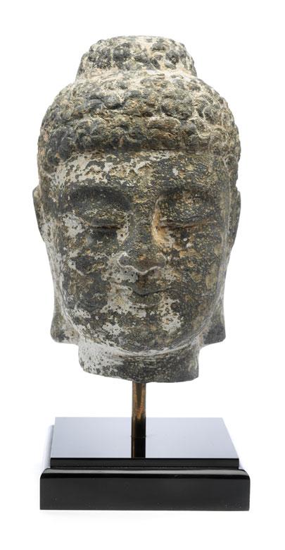 Kopf eines Buddha