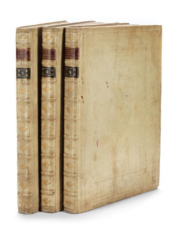 Taferelen/ der Voornaamste/ Geschiedenissen/ van het oude en nieuwe/ Testament