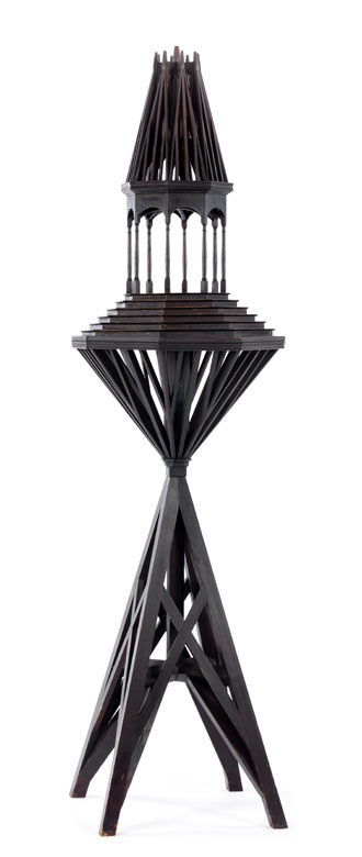 Model eines Turmes