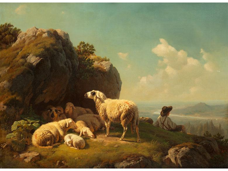 Robert Eberle, 1815 Meersburg – 1860 Eberfing