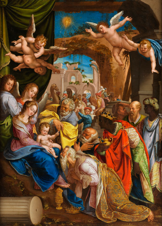 Denys Calvaert, Dionisio Fiammingo, 1540 Antwerpen – 1619 Bologna,