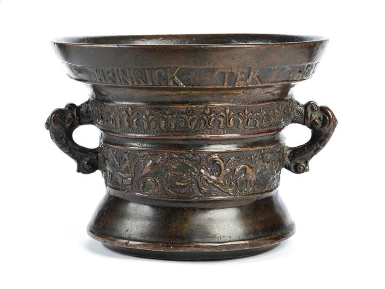 Niederländischer Bronzemörser