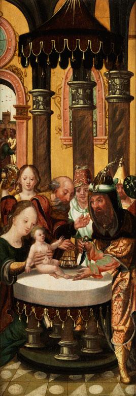 Meister von 1518/ Jan van Dornicke, 1470-1527, zug.