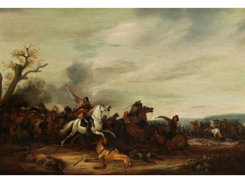 Abraham van der Hoef, 1611/12 Haarlem – 1649