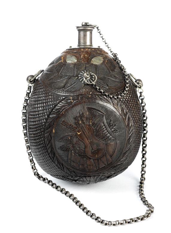 Kokosnuss Pulverflasche