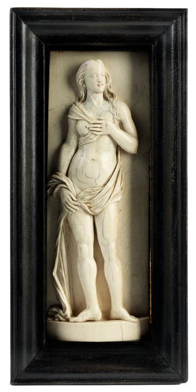 Elfenbeinschnitzfigur einer Venus