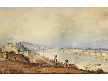 Karoly Sterio, 1821 Szászkabánya/ Ungarn – 1862 Budapest Vertreter der ungarischen Biedermeier-Malerei