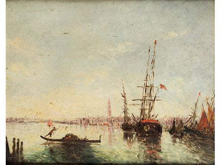 Félix Ziem, 1821 Beaune – 1911 Paris