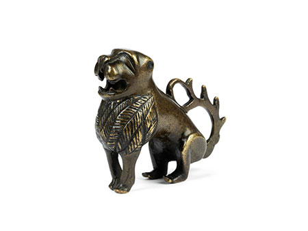 Gotischer Bronzelöwe