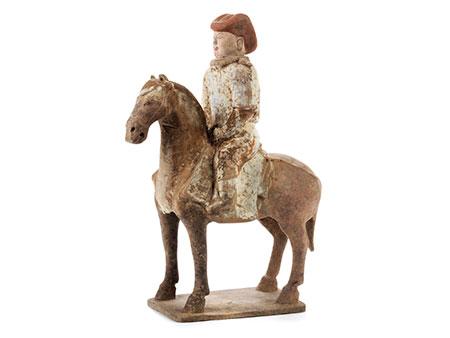 Reiter mit roter Haube